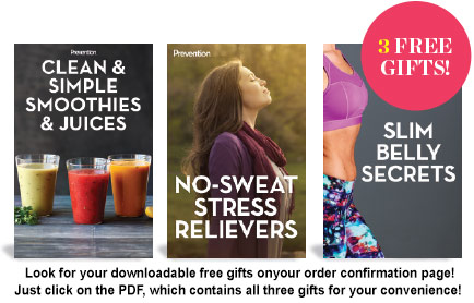 Clean & Simple Smoothies & Juices, Slim Belly Secrets, and No-Sweat Stress Relievers
